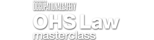OHS Law Masterclass 2021